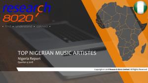 News from Nigeria